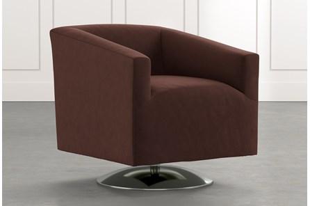 Loft Brown Swivel Accent Chair