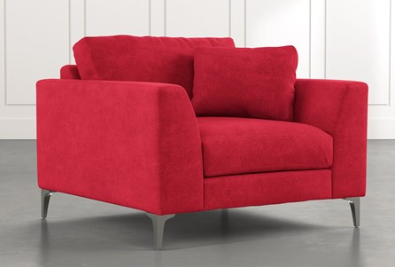 Loft Red Arm Chair