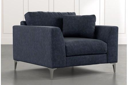 Loft Navy Blue Arm Chair