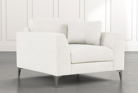 Loft White Arm Chair