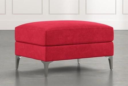 Loft Red Ottoman