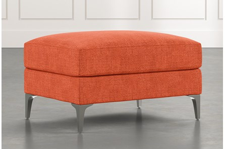 Loft Orange Ottoman