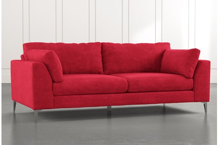 Loft Red Sofa