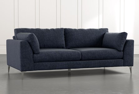 Loft Navy Blue Sofa