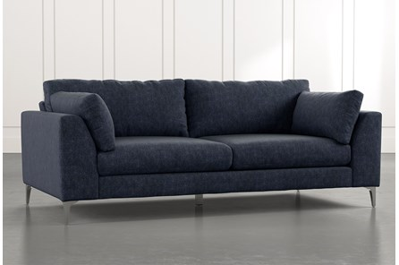 Loft Navy Blue Sofa