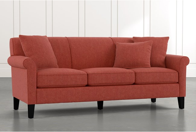 Devon II Red Sofa - 360
