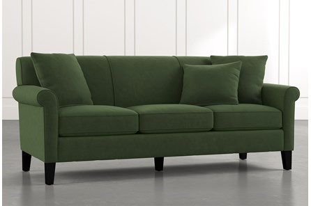 Devon II Green Sofa
