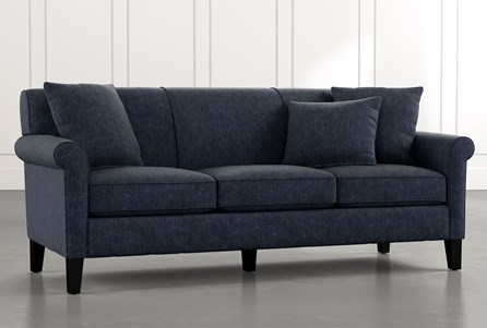 Devon II Navy Blue Sofa