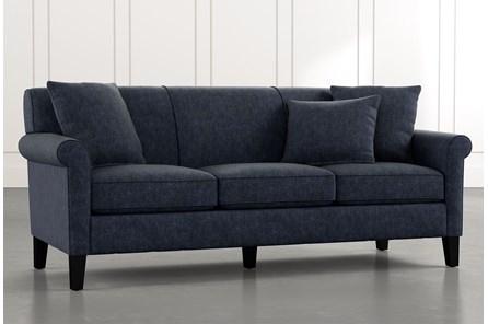 Devon II Navy Blue Sofa