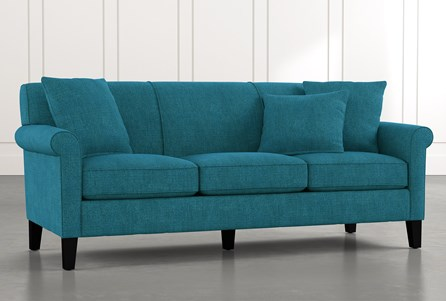 Devon II Teal Sofa