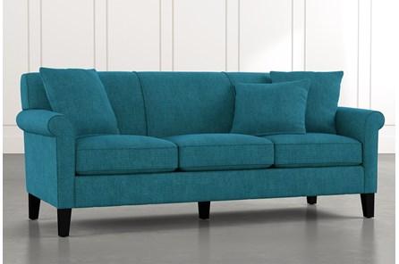 Devon II Teal Sofa