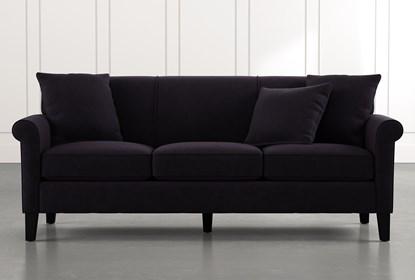 Devon II Black Sofa