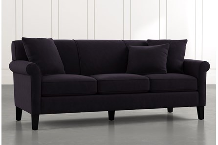 Devon II Black Sofa