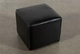 Loft Leather Ottoman