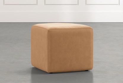 Cool Loft Tan Leather Ottoman Inzonedesignstudio Interior Chair Design Inzonedesignstudiocom