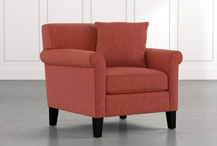 Devon II Red Arm Chair