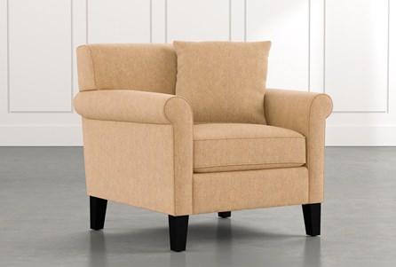 Devon II Yellow Arm Chair