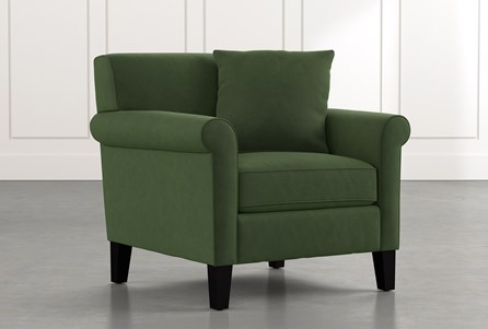 Devon II Green Arm Chair