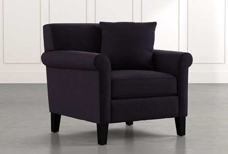 Devon II Black Arm Chair