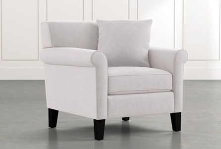 Devon II Light Grey Arm Chair