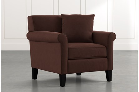 Devon II Brown Arm Chair