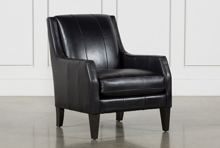 Paxton Leather Accent Chair