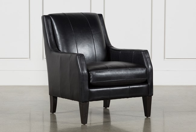 Paxton Leather Accent Chair - 360