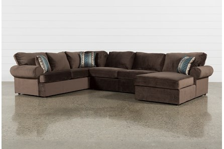 Jarell 3 Piece Sectional W Raf Chaise