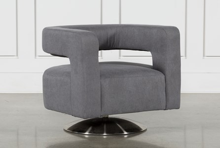 Circuit Swivel Accent Chair