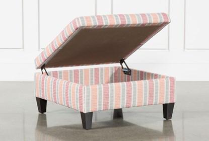 Peachy Dexter Ii Accent Storage Ottoman Machost Co Dining Chair Design Ideas Machostcouk