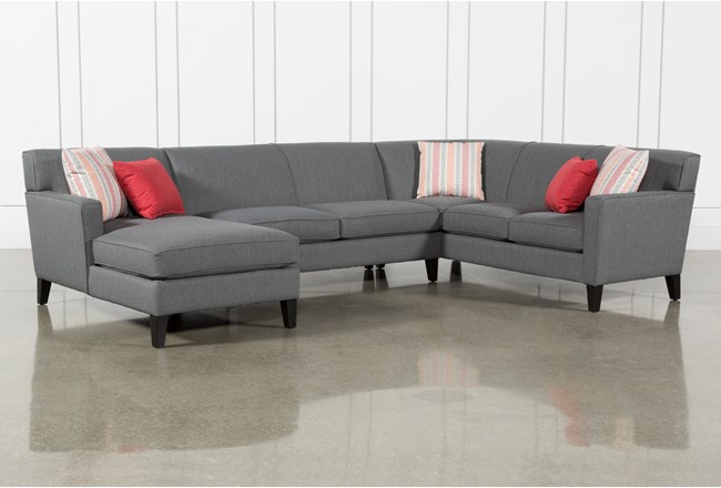 Dexter II 3 Piece Sectional With Left Arm Facing Chaise - 360