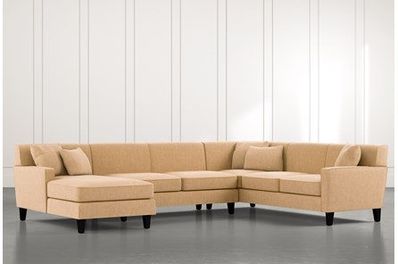 Dexter II Gold 3 Piece Sectional