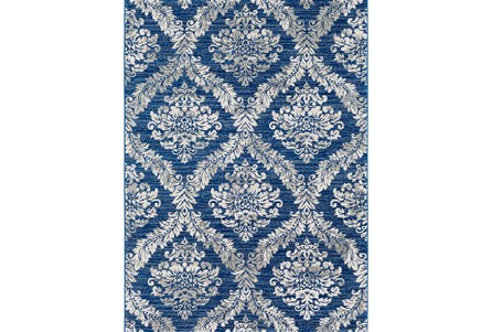 63X87 Promo Rug-Ivete Medallion Blue/Multi