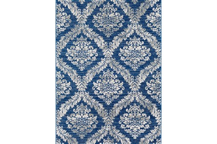 63X87 Promo Rug-Ivete Medallion Blue/Multi - Main