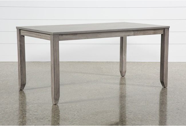 Matias Grey Dining Table - 360