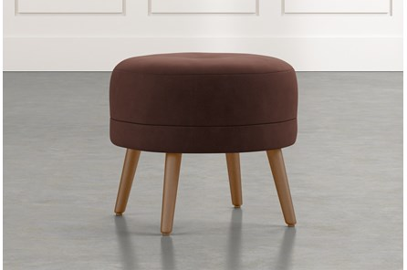 Devon II Brown Accent Ottoman