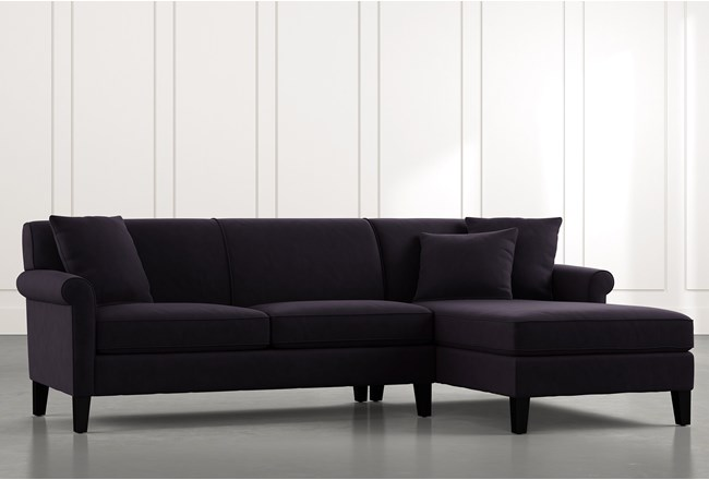 Devon II Black 2 Piece Sectional - 360