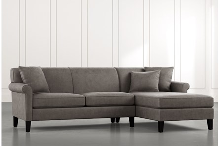 Devon II Dark Grey 2 Piece Sectional