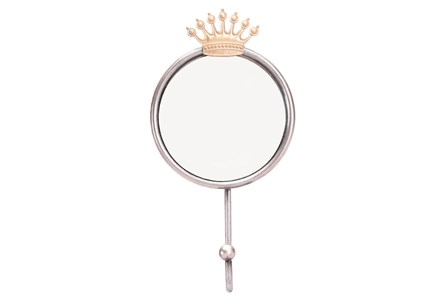 Wall Mirror-Crown Antique