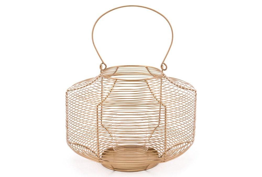 Spiral Gold Lantern Gold