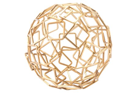 Squares Gold Orb Gold