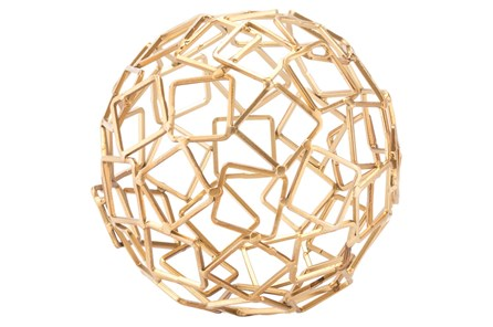 Squares Gold Orb Gold - Main
