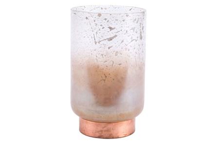 Large Vase Translucent & Copper - Main