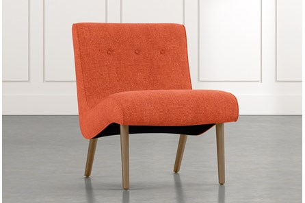 Devon II Orange Accent Chair