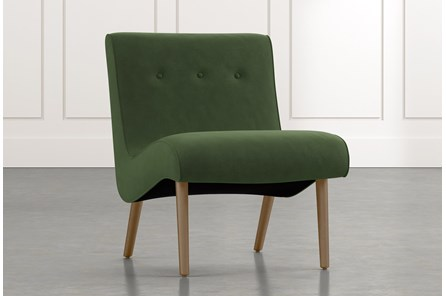 Devon II Green Accent Chair