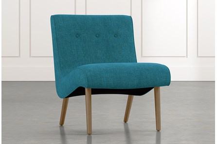 Devon II Teal Accent Chair