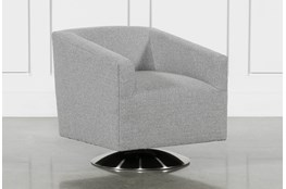 Loft Smokey Swivel Accent Chair