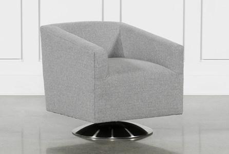 Loft Smokey Swivel Accent Chair