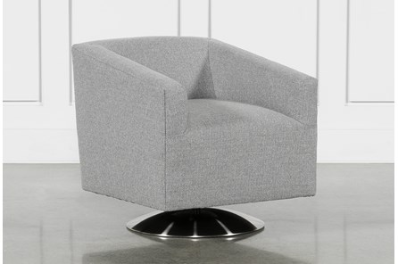Loft Smokey Swivel Accent Chair - Main