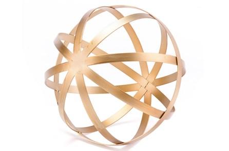 Gold Orb Lg Gold - Main